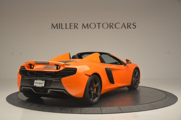 Used 2015 McLaren 650S Spider for sale Sold at Bugatti of Greenwich in Greenwich CT 06830 7