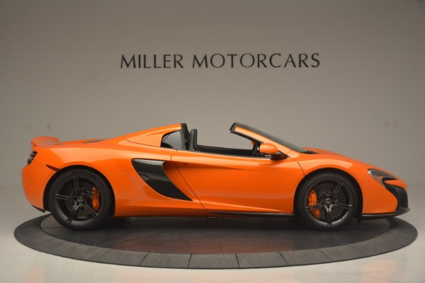 Used 2015 McLaren 650S Spider for sale Sold at Bugatti of Greenwich in Greenwich CT 06830 9