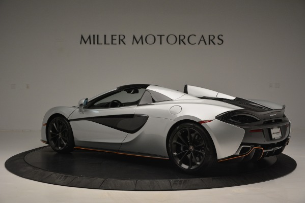 Used 2018 McLaren 570S Spider for sale Sold at Bugatti of Greenwich in Greenwich CT 06830 4