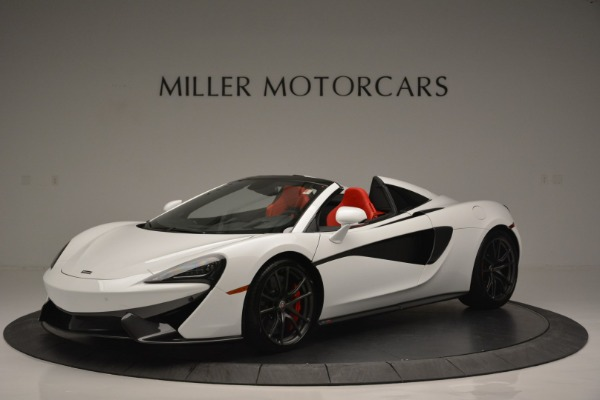 Used 2018 McLaren 570S Spider for sale Sold at Bugatti of Greenwich in Greenwich CT 06830 2