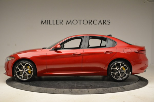 New 2018 Alfa Romeo Giulia Ti Sport Q4 for sale Sold at Bugatti of Greenwich in Greenwich CT 06830 3