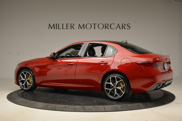 New 2018 Alfa Romeo Giulia Ti Sport Q4 for sale Sold at Bugatti of Greenwich in Greenwich CT 06830 4