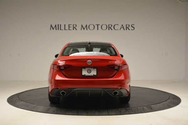 New 2018 Alfa Romeo Giulia Ti Sport Q4 for sale Sold at Bugatti of Greenwich in Greenwich CT 06830 6