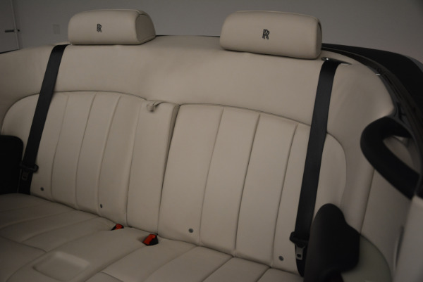 Used 2014 Rolls-Royce Phantom Drophead Coupe for sale Sold at Bugatti of Greenwich in Greenwich CT 06830 24
