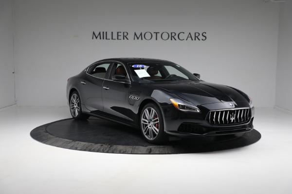 New 2018 Maserati Quattroporte S Q4 for sale Sold at Bugatti of Greenwich in Greenwich CT 06830 13