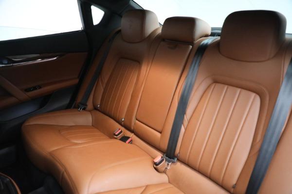 New 2018 Maserati Quattroporte S Q4 for sale Sold at Bugatti of Greenwich in Greenwich CT 06830 20