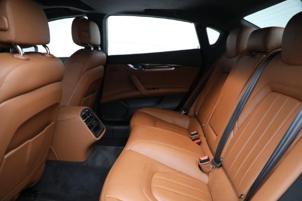 New 2018 Maserati Quattroporte S Q4 for sale Sold at Bugatti of Greenwich in Greenwich CT 06830 21