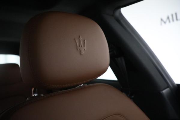 New 2018 Maserati Quattroporte S Q4 for sale Sold at Bugatti of Greenwich in Greenwich CT 06830 23