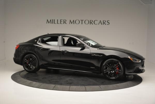 New 2018 Maserati Ghibli SQ4 GranSport Nerissimo for sale Sold at Bugatti of Greenwich in Greenwich CT 06830 10