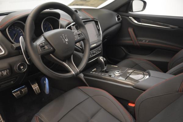 New 2018 Maserati Ghibli SQ4 GranSport Nerissimo for sale Sold at Bugatti of Greenwich in Greenwich CT 06830 13