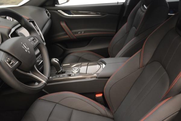 New 2018 Maserati Ghibli SQ4 GranSport Nerissimo for sale Sold at Bugatti of Greenwich in Greenwich CT 06830 14