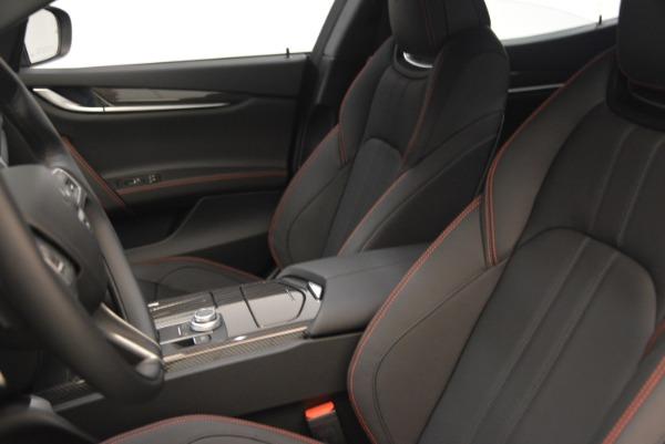 New 2018 Maserati Ghibli SQ4 GranSport Nerissimo for sale Sold at Bugatti of Greenwich in Greenwich CT 06830 15