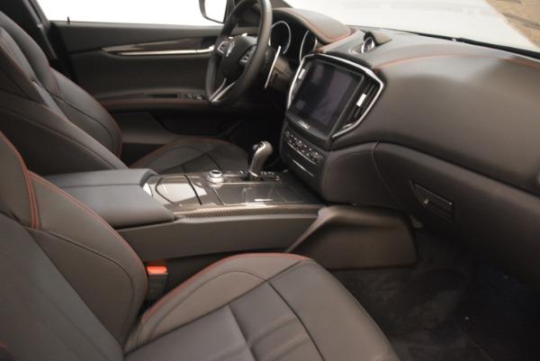New 2018 Maserati Ghibli SQ4 GranSport Nerissimo for sale Sold at Bugatti of Greenwich in Greenwich CT 06830 16