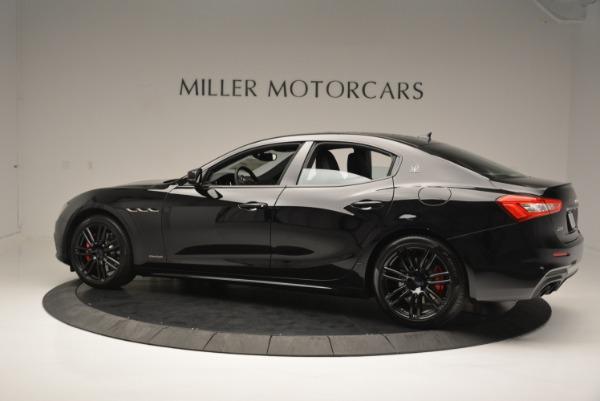 New 2018 Maserati Ghibli SQ4 GranSport Nerissimo for sale Sold at Bugatti of Greenwich in Greenwich CT 06830 4