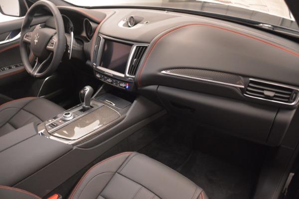 New 2018 Maserati Levante S Q4 GranSport Nerissimo for sale Sold at Bugatti of Greenwich in Greenwich CT 06830 19