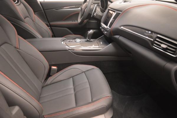 New 2018 Maserati Levante S Q4 GranSport Nerissimo for sale Sold at Bugatti of Greenwich in Greenwich CT 06830 20