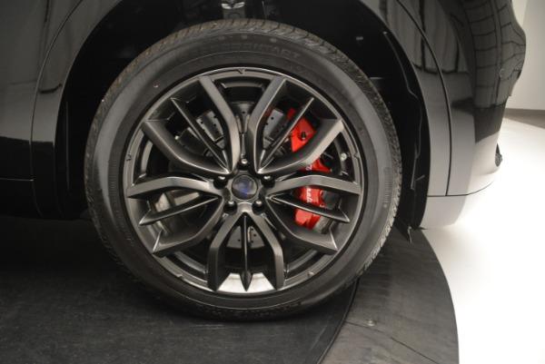 New 2018 Maserati Levante S Q4 GranSport Nerissimo for sale Sold at Bugatti of Greenwich in Greenwich CT 06830 25