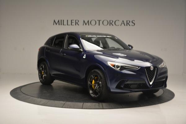New 2018 Alfa Romeo Stelvio Quadrifoglio for sale Sold at Bugatti of Greenwich in Greenwich CT 06830 11