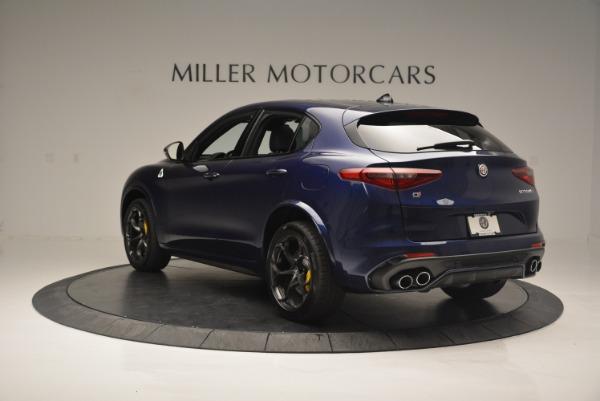 New 2018 Alfa Romeo Stelvio Quadrifoglio for sale Sold at Bugatti of Greenwich in Greenwich CT 06830 5