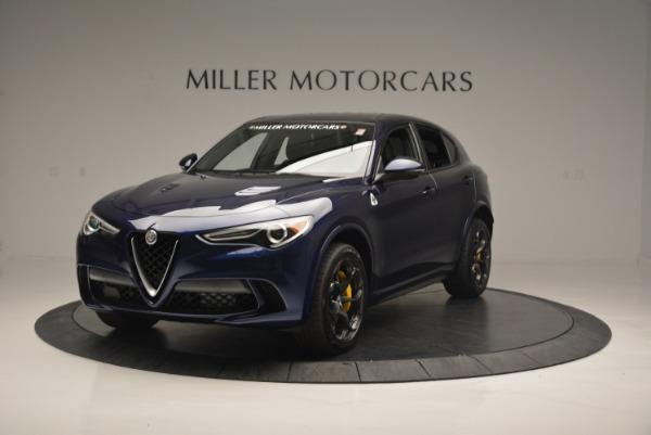 New 2018 Alfa Romeo Stelvio Quadrifoglio for sale Sold at Bugatti of Greenwich in Greenwich CT 06830 1