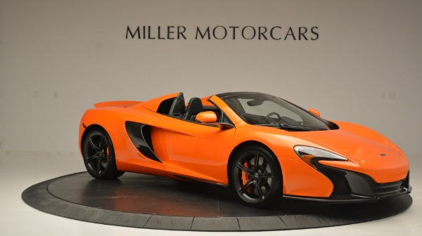 Used 2015 McLaren 650S Spider Convertible for sale Sold at Bugatti of Greenwich in Greenwich CT 06830 10