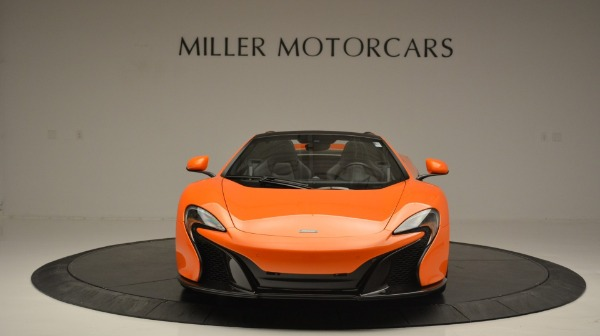 Used 2015 McLaren 650S Spider Convertible for sale Sold at Bugatti of Greenwich in Greenwich CT 06830 12