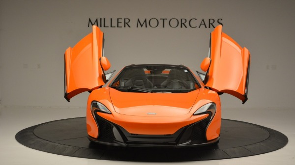 Used 2015 McLaren 650S Spider Convertible for sale Sold at Bugatti of Greenwich in Greenwich CT 06830 13