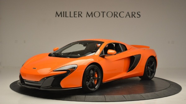 Used 2015 McLaren 650S Spider Convertible for sale Sold at Bugatti of Greenwich in Greenwich CT 06830 15