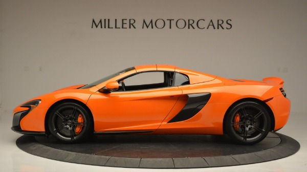 Used 2015 McLaren 650S Spider Convertible for sale Sold at Bugatti of Greenwich in Greenwich CT 06830 16