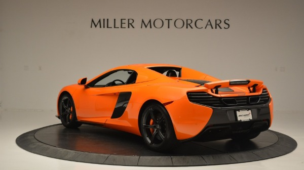 Used 2015 McLaren 650S Spider Convertible for sale Sold at Bugatti of Greenwich in Greenwich CT 06830 17