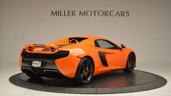 Used 2015 McLaren 650S Spider Convertible for sale Sold at Bugatti of Greenwich in Greenwich CT 06830 19