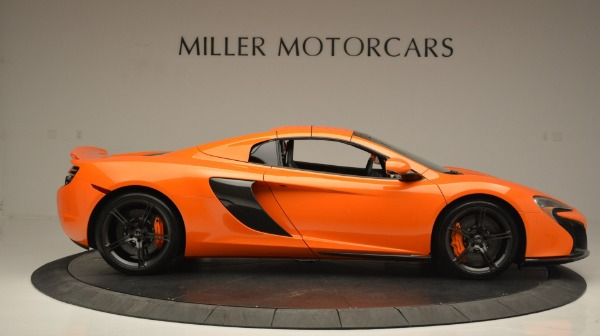 Used 2015 McLaren 650S Spider Convertible for sale Sold at Bugatti of Greenwich in Greenwich CT 06830 20
