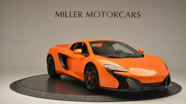 Used 2015 McLaren 650S Spider Convertible for sale Sold at Bugatti of Greenwich in Greenwich CT 06830 21