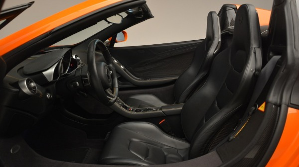 Used 2015 McLaren 650S Spider Convertible for sale Sold at Bugatti of Greenwich in Greenwich CT 06830 22