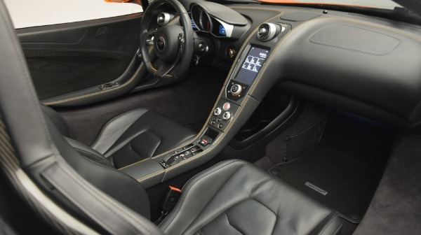 Used 2015 McLaren 650S Spider Convertible for sale Sold at Bugatti of Greenwich in Greenwich CT 06830 24