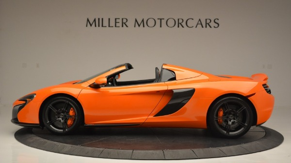 Used 2015 McLaren 650S Spider Convertible for sale Sold at Bugatti of Greenwich in Greenwich CT 06830 3