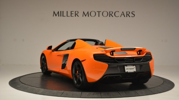 Used 2015 McLaren 650S Spider Convertible for sale Sold at Bugatti of Greenwich in Greenwich CT 06830 5