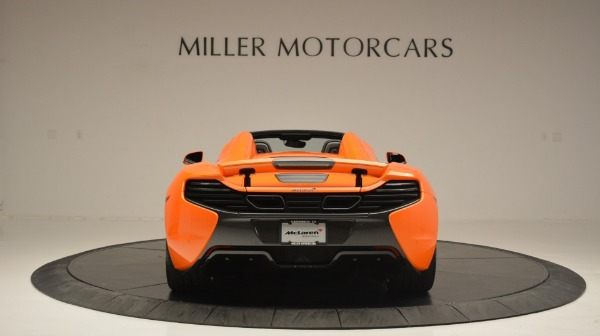 Used 2015 McLaren 650S Spider Convertible for sale Sold at Bugatti of Greenwich in Greenwich CT 06830 6