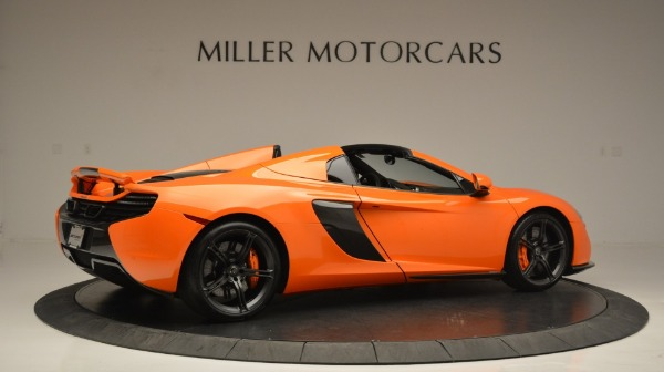 Used 2015 McLaren 650S Spider Convertible for sale Sold at Bugatti of Greenwich in Greenwich CT 06830 8