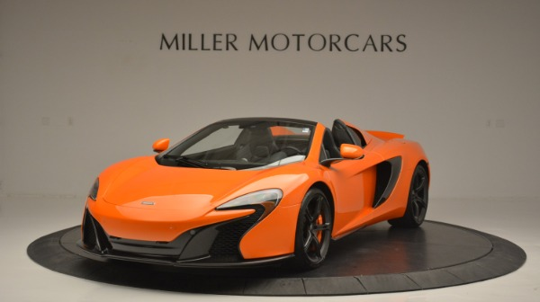 Used 2015 McLaren 650S Spider Convertible for sale Sold at Bugatti of Greenwich in Greenwich CT 06830 1