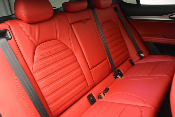 New 2018 Alfa Romeo Stelvio Ti Sport Q4 for sale Sold at Bugatti of Greenwich in Greenwich CT 06830 24