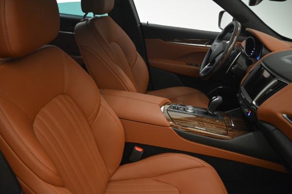 New 2018 Maserati Levante S Q4 GranLusso for sale Sold at Bugatti of Greenwich in Greenwich CT 06830 14