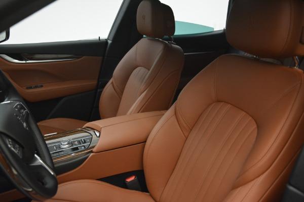 New 2018 Maserati Levante S Q4 GranLusso for sale Sold at Bugatti of Greenwich in Greenwich CT 06830 17