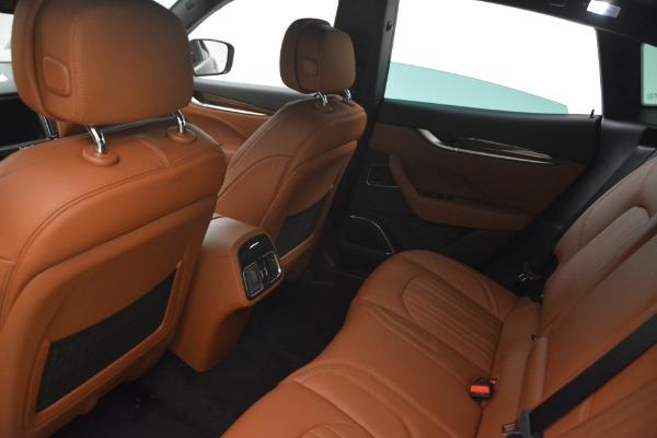 New 2018 Maserati Levante S Q4 GranLusso for sale Sold at Bugatti of Greenwich in Greenwich CT 06830 19