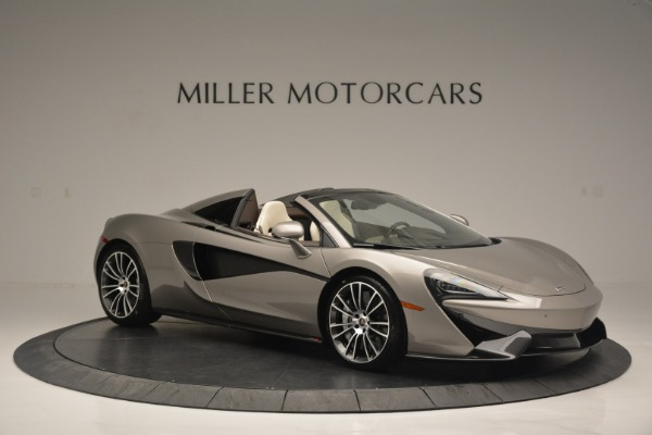 New 2018 McLaren 570S Spider for sale Sold at Bugatti of Greenwich in Greenwich CT 06830 10