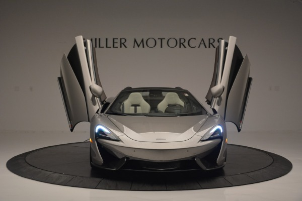 New 2018 McLaren 570S Spider for sale Sold at Bugatti of Greenwich in Greenwich CT 06830 12