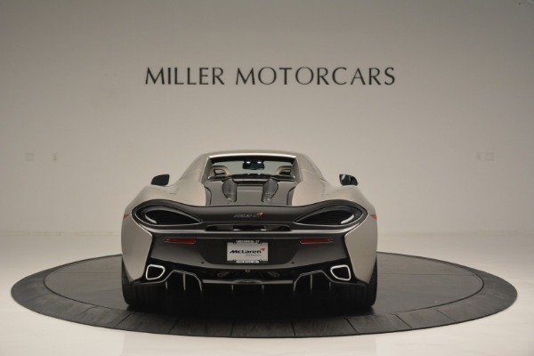 New 2018 McLaren 570S Spider for sale Sold at Bugatti of Greenwich in Greenwich CT 06830 17