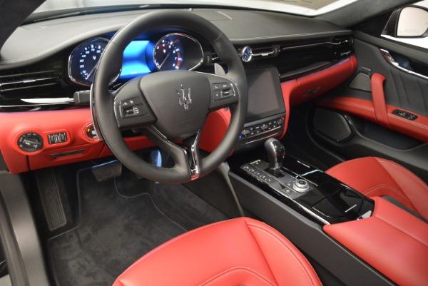 New 2018 Maserati Quattroporte S Q4 GranLusso for sale Sold at Bugatti of Greenwich in Greenwich CT 06830 13