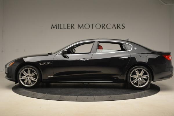 New 2018 Maserati Quattroporte S Q4 GranLusso for sale Sold at Bugatti of Greenwich in Greenwich CT 06830 3