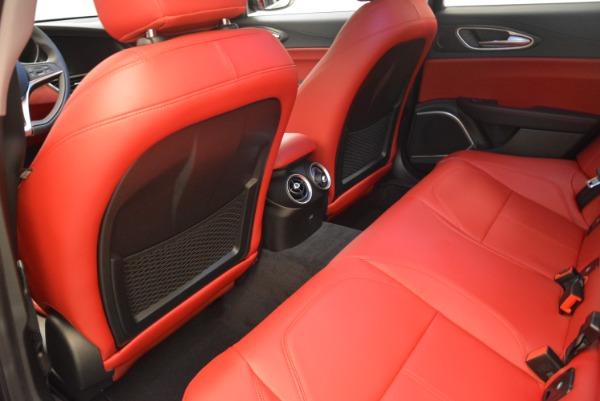 New 2018 Alfa Romeo Giulia Q4 for sale Sold at Bugatti of Greenwich in Greenwich CT 06830 16